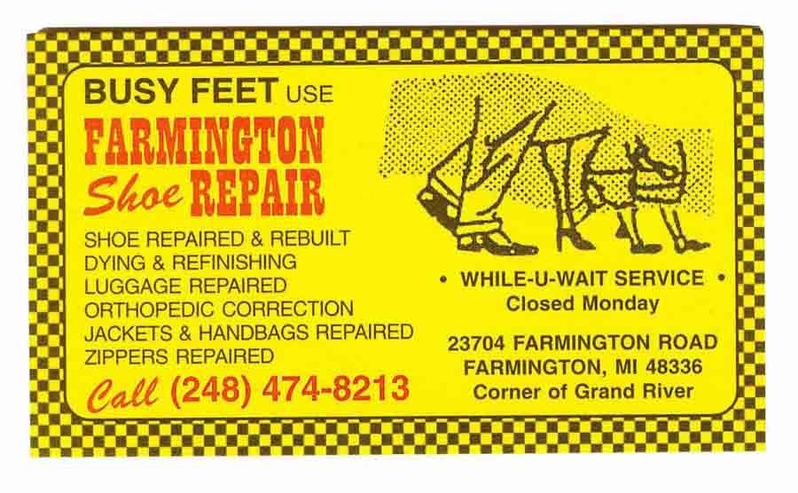 Farmington Shoe Repair